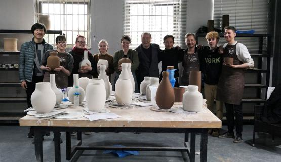 Photo Journal From Study Project 24 Vases In 24 Days In Jingdezhen