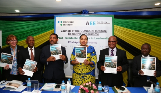 Aalto EE starts co-operation with UONGOZI institute.